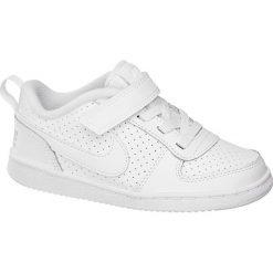 Trampki chłopięce: sneakersy dziecięce Nike Court Borough Low NIKE białe