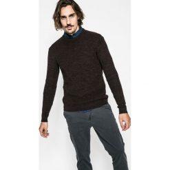 Medicine - Sweter Lord and Master. Czarne swetry klasyczne męskie MEDICINE, l, z bawełny, z okrągłym kołnierzem. W wyprzedaży za 79,90 zł.