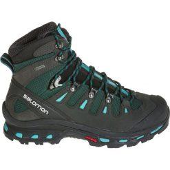 Buty trekkingowe damskie: Salomon Buty damskie Quest 4D 2 GTX W Asphalt/Green Black/Haze Blue r. 41 1/3 (39277)