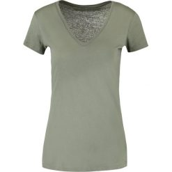 T-shirty damskie: Majestic Tshirt basic army