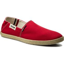 Espadryle męskie: Espadryle TOMMY JEANS – Summer Slip On Shoe EM0EM00027 Tango Red 611