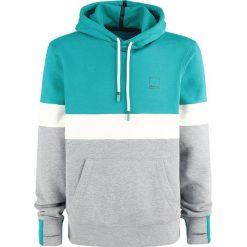 Bluzy męskie: Bench Hooded Sweatshirt Bluza z kapturem niebieski/szary