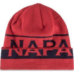 Czapka męska NAPAPIJRI - N0YH3XR66 Far Sparkling Red. Szare czapki damskie marki Napapijri, z dzianiny. Za 170,00 zł.
