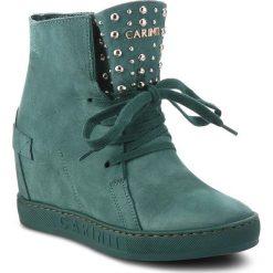 Sneakersy CARINII - B4392 I64-000-000-B88. Zielone sneakersy damskie Carinii, z materiału. W wyprzedaży za 239,00 zł.