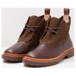 Botki damskie lity: Clarks TRACE FARN Ankle boot dark brown