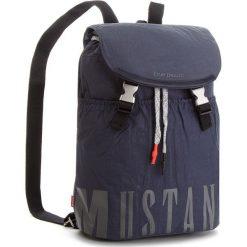 Plecak MUSTANG - El Paso 4100000027 Dark Blue 402. Niebieskie plecaki męskie Mustang, z materiału, sportowe. W wyprzedaży za 239,00 zł.