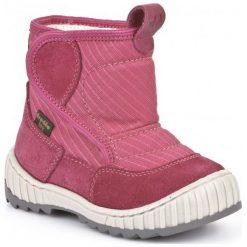 Froddo Buty Zimowe Dziecięce 23 Różowy. Czerwone buciki niemowlęce chłopięce Froddo, na zimę, ze skóry. Za 215,00 zł.