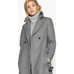 Płaszcze damskie: Płaszcz długi, wiązany w pasie