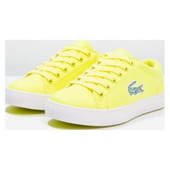 Trampki chłopięce: Lacoste STRAIGHTSET LACE Tenisówki i Trampki yellow