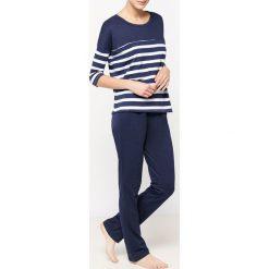 Piżamy damskie: Piżama dwuczęściowa w paski