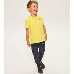 Koszulka polo - Żółty. Żółte t-shirty chłopięce marki Reserved, l. Za 49,99 zł.