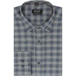 Koszula bexley f2487 długi rękaw custom fit granatowy. Niebieskie koszule męskie jeansowe marki Recman, m, button down, z długim rękawem. Za 99,99 zł.