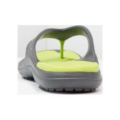 Crocs MODI SPORT FLIP Japonki kąpielowe graphite/volt green. Szare japonki męskie marki Crocs, z gumy. Za 129,00 zł.