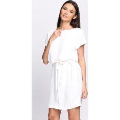 Sukienki: Biała Sukienka Glimmer
