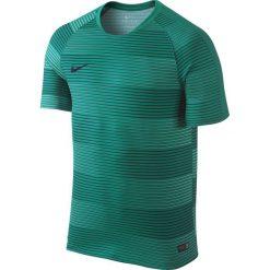 Nike Koszulka męska Flash Graphic 1 zielona r. XL. Zielone koszulki sportowe męskie marki QUECHUA, m, z elastanu. Za 101,45 zł.