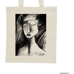 Shopper bag damskie: Szkic – torba – 2 kolory