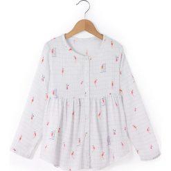 Bluzki dziewczęce z długim rękawem: Koszula wzorzysta z długim rękawem