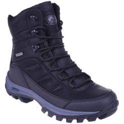 Buty trekkingowe męskie: ELBRUS Buty męskie Spike Mid WP Black/Dark Grey r. 42