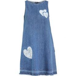 Odzież damska: Love Moschino Sukienka jeansowa light denim