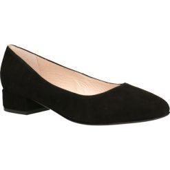 Czółenka MIHO. Czarne buty ślubne damskie marki Gino Rossi, ze skóry. Za 299,90 zł.