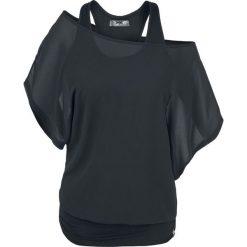 Bluzki asymetryczne: Black Premium by EMP When The Heart Rules The Mind Koszulka damska czarny