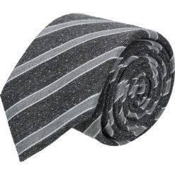 Krawaty męskie: krawat cotton grafit classic 202