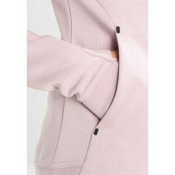 Nike Sportswear HOODIE  Bluza rozpinana particle rose black. Czerwone kardigany damskie Nike Sportswear, xs, z bawełny. Za 399,00 zł.
