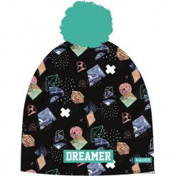 Czapka Magic Fun DREAMER. Czarne czapki zimowe damskie Pakamera, z dzianiny. Za 79,00 zł.