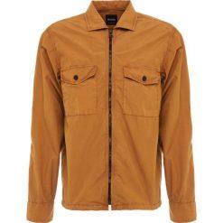 BOSS CASUAL LOVEL ZIP Koszula rust/copper. Czerwone koszule męskie BOSS Casual, m, z bawełny. Za 579,00 zł.