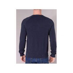 Swetry Emporio Armani  NARRABILE. Niebieskie swetry klasyczne męskie Emporio Armani, l. Za 559,20 zł.