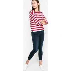 Pepe Jeans - Jeansy Lola. Niebieskie jeansy damskie rurki Pepe Jeans, z bawełny. W wyprzedaży za 349,90 zł.