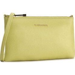 Torebka COCCINELLE - YV3 Minibag C5 YV3 15 B3 02 Zanzero 158. Żółte listonoszki damskie Coccinelle, ze skóry. W wyprzedaży za 329,00 zł.