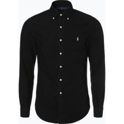 Polo Ralph Lauren - Koszula męska – Slim Fit, czarny. Czarne koszule męskie na spinki Polo Ralph Lauren, m, polo. Za 499,95 zł.