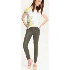 Spodnie damskie: SPODNIE DŁUGIE DAMSKIE RURKI, OBCISŁE