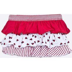 Blukids - Spódnica dziecięca 68-98 cm. Różowe minispódniczki marki Blukids, z bawełny, rozkloszowane. W wyprzedaży za 39,90 zł.