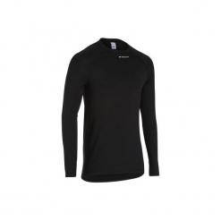 Koszulka Termoaktywna Długi Rękaw Na Rower 100 Męska B'twin. Czarne odzież rowerowa męska marki KALENJI, m, z elastanu, z krótkim rękawem, do biegania. Za 29,99 zł.