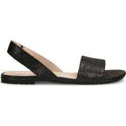 Sandały MOLLY. Czarne sandały damskie marki Gino Rossi, ze skóry. Za 169,90 zł.