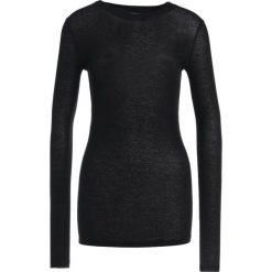 Swetry klasyczne damskie: Bruuns Bazaar ANGELA Sweter black