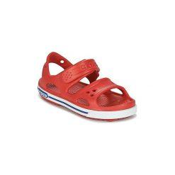 Sandały Dziecko  Crocs  CROCBAND II SANDAL PS. Czerwone sandały chłopięce Crocs. Za 103,20 zł.