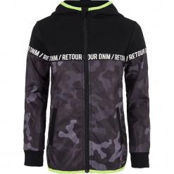 Bluza w kolorze czarno-szarym. Czarne bluzy chłopięce marki Retour Denim de Luxe, moro. W wyprzedaży za 129,95 zł.