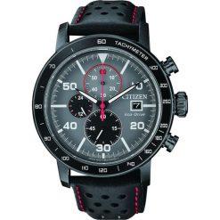 ZEGAREK CITIZEN Chrono CA0645-15H. Szare, analogowe zegarki męskie CITIZEN, sztuczne. Za 890,00 zł.