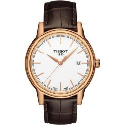 PROMOCJA ZEGAREK TISSOT T-CLASSIC T085.410.36.011.00. Białe zegarki męskie TISSOT, ze stali. W wyprzedaży za 1161,60 zł.