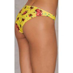 NA-KD Swimwear Dół od bikini - Yellow. Żółte bikini marki NABAIJI. W wyprzedaży za 20,48 zł.