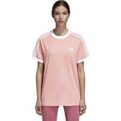 Koszulka adidas 3-Stripes Tee (DH3186). Różowe bluzki damskie Adidas, z bawełny. Za 129,99 zł.