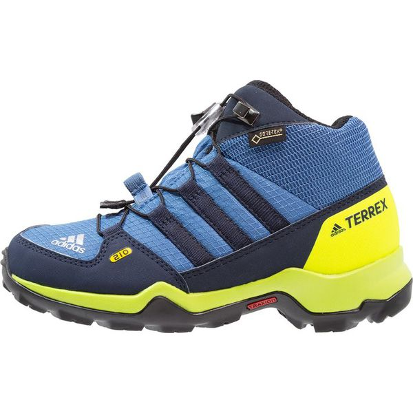 adidas Performance TERREX MID GTX Buty trekkingowe trace royalcollegiate navysolar slime