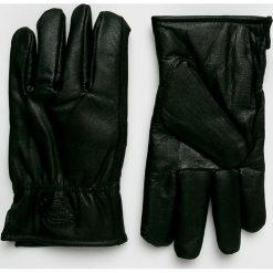 Dickies - Rękawiczki skórzane. Szare rękawiczki męskie marki Dickies, na zimę, z dzianiny. Za 129,90 zł.