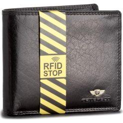 Duży Portfel Męski PETERSON - 354/RFID-02-01-01 Czarny. Czarne portfele męskie Peterson, ze skóry. Za 139,00 zł.