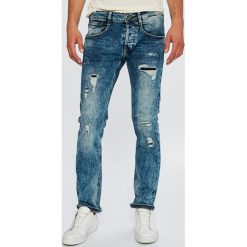 Guess Jeans - Jeansy Vermont. Niebieskie jeansy męskie slim Guess Jeans. Za 599,90 zł.