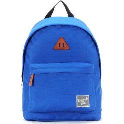 Plecaki męskie: Plecak w kolorze niebieskim – 29 x 40 x 14 cm