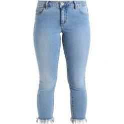 Only Petite ONLCARMEN ANKLE  Jeans Skinny Fit light blue denim. Niebieskie boyfriendy damskie Only Petite, petite. Za 169,00 zł.
